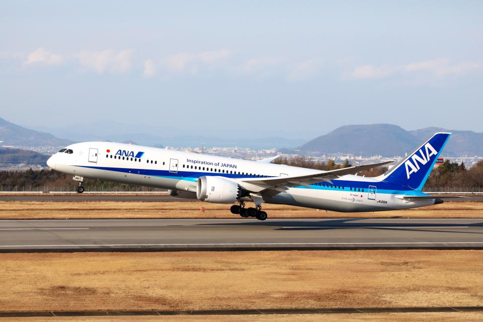 express999さんの全日空 Boeing 787-9 (JA891A) 航空フォト