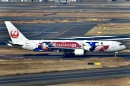 はやさんが、羽田空港で撮影した日本航空 767-346/ERの航空フォト(飛行機 写真・画像)