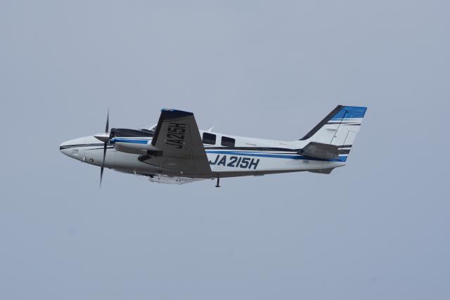 神宮寺ももさんが、高松空港で撮影した学校法人ヒラタ学園 航空事業本部 G58 Baronの航空フォト(飛行機 写真・画像)