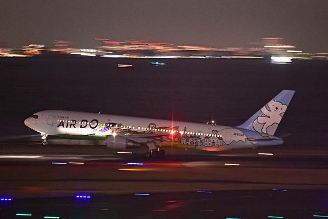 Souma2005さんが、羽田空港で撮影したAIR DO 767-381の航空フォト(飛行機 写真・画像)