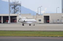 TAK_HND_NRTさんが、高松空港で撮影したイタリア空軍 Falcon 900EXの航空フォト(飛行機 写真・画像)