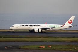 T.Sazenさんが、羽田空港で撮影した日本航空 A350-941の航空フォト(飛行機 写真・画像)