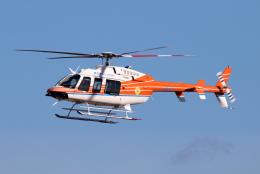 なごやんさんが、名古屋飛行場で撮影したベルヘリコプター 407GXiの航空フォト(飛行機 写真・画像)