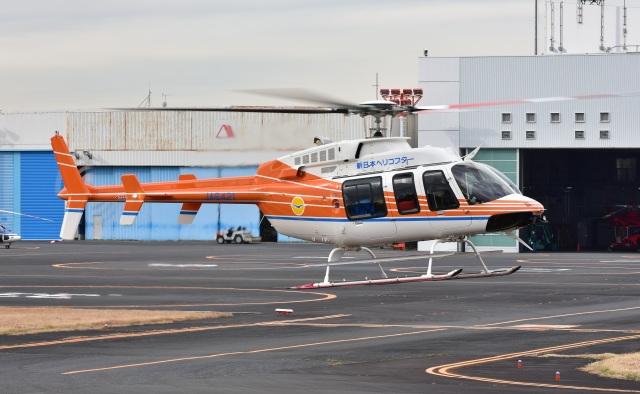 Soraya_Projectさんが、東京ヘリポートで撮影したベルヘリコプター 407GXiの航空フォト(飛行機 写真・画像)