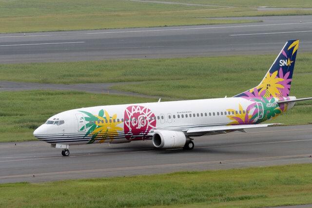 senyoさんが、羽田空港で撮影したスカイネットアジア航空 737-4Y0の航空フォト(飛行機 写真・画像)
