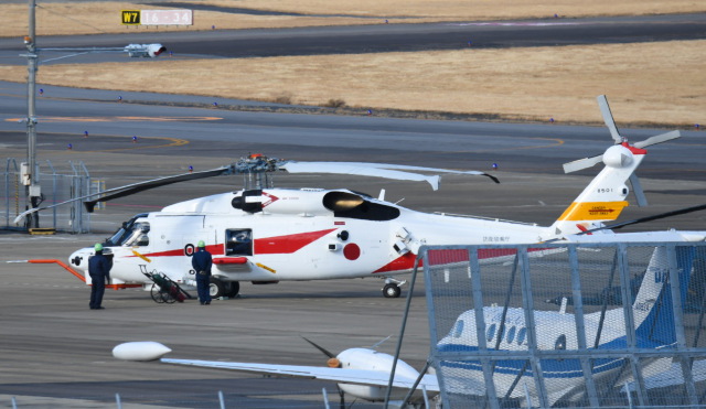 tamtam3839さんが、名古屋飛行場で撮影した三菱重工業 XSH-60Lの航空フォト(飛行機 写真・画像)