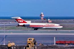 パール大山さんが、サンフランシスコ国際空港で撮影したトランス・ワールド航空 727-31の航空フォト(飛行機 写真・画像)