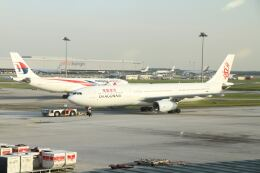 G-BNLYさんが、クアラルンプール国際空港で撮影した香港ドラゴン航空 A330-343Xの航空フォト(飛行機 写真・画像)