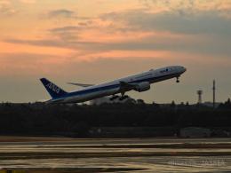 池さん@JA381Aさんが、成田国際空港で撮影した全日空 777-381/ERの航空フォト(飛行機 写真・画像)
