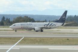 G-BNLYさんが、シアトル タコマ国際空港で撮影したデルタ航空 737-832の航空フォト(飛行機 写真・画像)