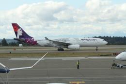 G-BNLYさんが、シアトル タコマ国際空港で撮影したハワイアン航空 A330-243の航空フォト(飛行機 写真・画像)