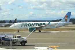 G-BNLYさんが、シアトル タコマ国際空港で撮影したフロンティア航空 A320-251Nの航空フォト(飛行機 写真・画像)