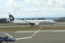 G-BNLYさんが、シアトル タコマ国際空港で撮影したアラスカ航空 737-990/ERの航空フォト(飛行機 写真・画像)