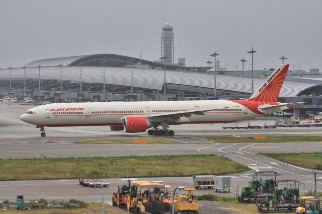 wunalaさんが、関西国際空港で撮影したエア・インディア 777-337/ERの航空フォト(飛行機 写真・画像)