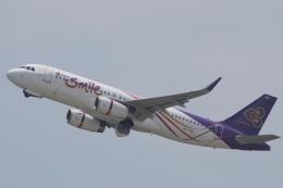 うっきーさんが、プーケット国際空港で撮影したタイ・スマイル A320-232の航空フォト(飛行機 写真・画像)