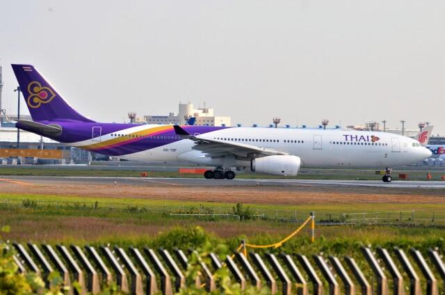 amagoさんが、成田国際空港で撮影したタイ国際航空 A330-343Xの航空フォト(飛行機 写真・画像)
