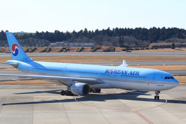 Hiro-hiroさんが、成田国際空港で撮影した大韓航空 A330-322の航空フォト(飛行機 写真・画像)