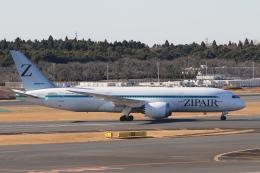 Hiro-hiroさんが、成田国際空港で撮影したZIPAIR 787-8 Dreamlinerの航空フォト(飛行機 写真・画像)