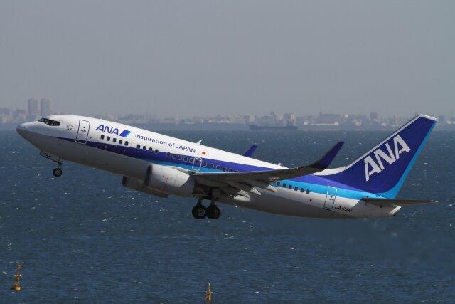 つばさ283さんが、羽田空港で撮影した全日空 737-781の航空フォト(飛行機 写真・画像)