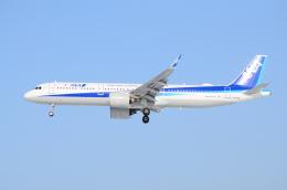 ITM58さんが、小松空港で撮影した全日空 A321-272Nの航空フォト(飛行機 写真・画像)