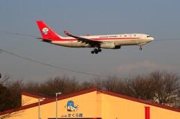 ☆ライダーさんが、成田国際空港で撮影した四川航空 A330-243Fの航空フォト(飛行機 写真・画像)