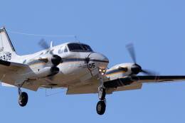 バイクオヤジさんが、厚木飛行場で撮影した海上自衛隊 LC-90 King Air (C90)の航空フォト(飛行機 写真・画像)