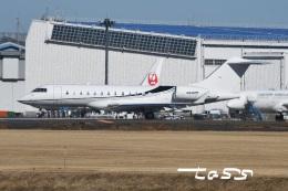 tassさんが、成田国際空港で撮影したアメリカ個人所有 BD-700-1A10 Global 6000の航空フォト(飛行機 写真・画像)