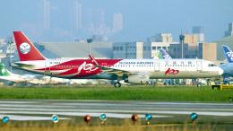 FlyingMonkeyさんが、台北松山空港で撮影した四川航空 A321-231の航空フォト(飛行機 写真・画像)