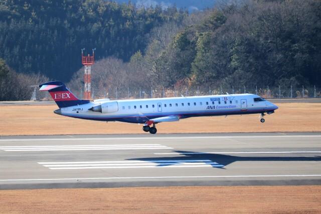 ヒロジーさんが、広島空港で撮影したアイベックスエアラインズ CL-600-2C10 Regional Jet CRJ-702ERの航空フォト(飛行機 写真・画像)