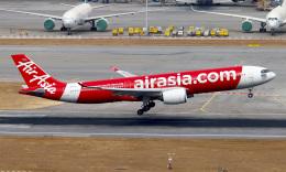 Asamaさんが、香港国際空港で撮影したタイ・エアアジア・エックス A330-941の航空フォト(飛行機 写真・画像)