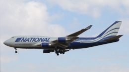 raichanさんが、成田国際空港で撮影したナショナル・エア・カーゴ 747-428(BCF)の航空フォト(飛行機 写真・画像)
