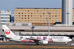 菊池 正人さんが、羽田空港で撮影した日本航空 767-346/ERの航空フォト(飛行機 写真・画像)
