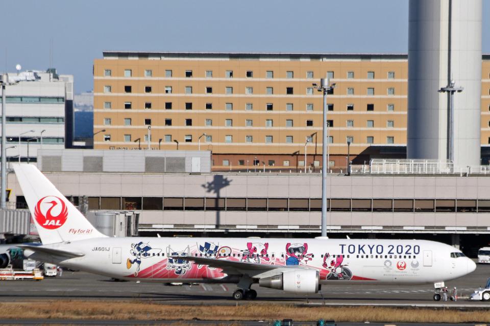 菊池 正人さんの日本航空 Boeing 767-300 (JA601J) 航空フォト