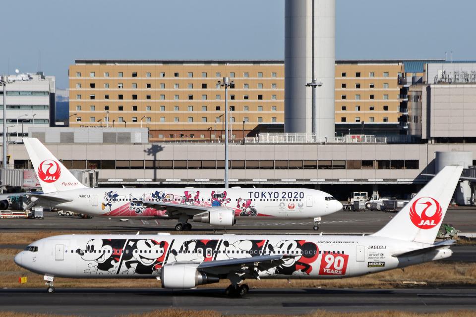 菊池 正人さんの日本航空 Boeing 767-300 (JA602J) 航空フォト