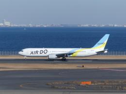 蒲田っ子さんが、羽田空港で撮影したAIR DO 767-33A/ERの航空フォト(飛行機 写真・画像)