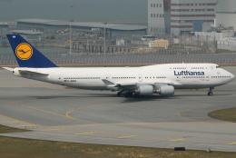 jun☆さんが、香港国際空港で撮影したルフトハンザドイツ航空 747-430の航空フォト(飛行機 写真・画像)