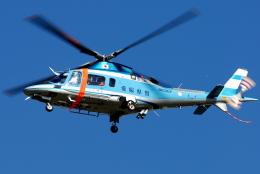 jun☆さんが、名古屋飛行場で撮影した愛媛県警察 A109E Powerの航空フォト(飛行機 写真・画像)