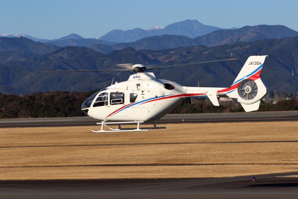 Judy1009さんの静岡エアコミュータ Eurocopter EC135/635 (JA135H) 航空フォト