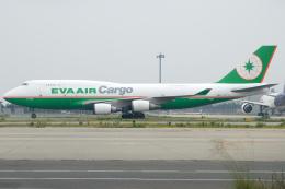 きんめいさんが、関西国際空港で撮影したエバー航空 747-45E(BDSF)の航空フォト(飛行機 写真・画像)