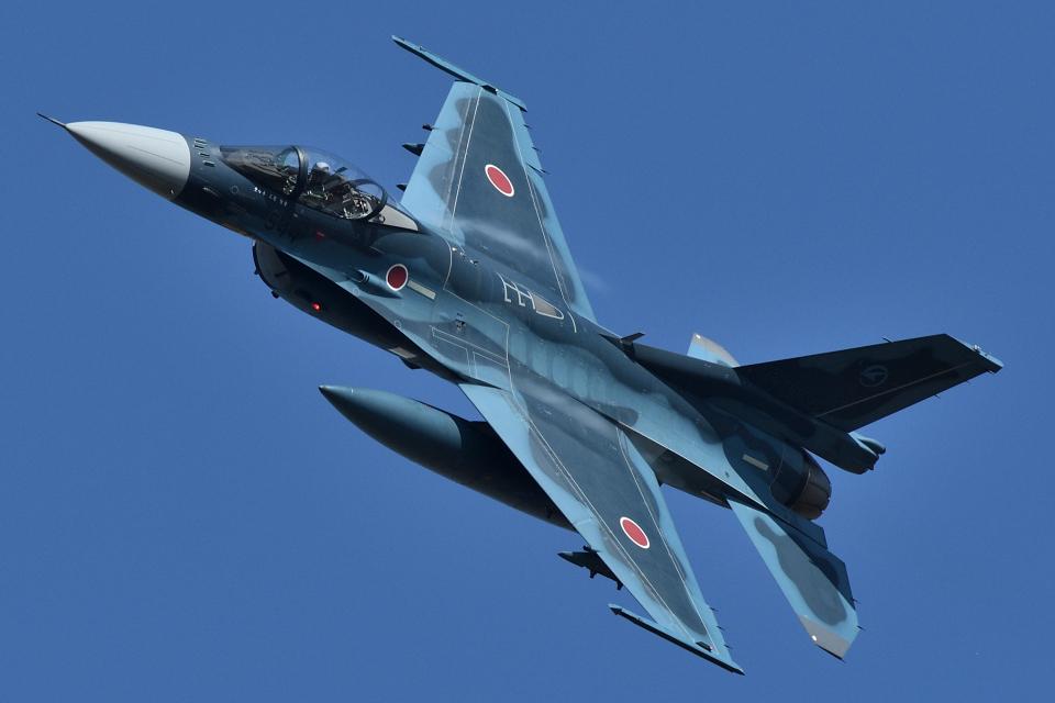 minoyanさんの航空自衛隊 Mitsubishi F-2A (83-8544) 航空フォト