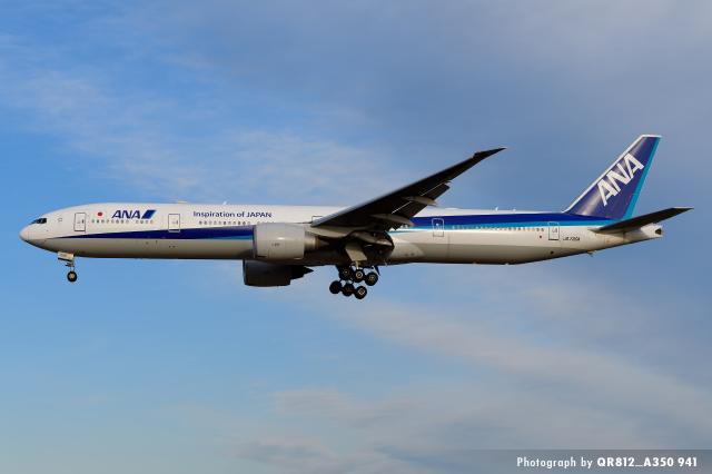 kina309さんが、成田国際空港で撮影した全日空 777-381/ERの航空フォト(飛行機 写真・画像)