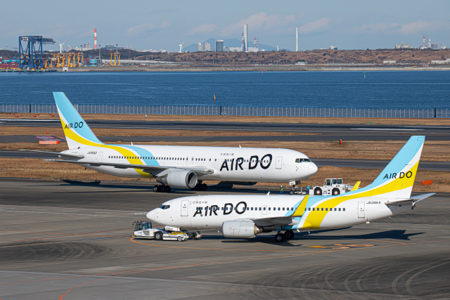 SGR RT 改さんが、羽田空港で撮影したAIR DO 737-781の航空フォト(飛行機 写真・画像)