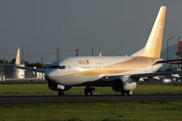 kengo.k@RJFTさんが、熊本空港で撮影した全日空 737-781の航空フォト(飛行機 写真・画像)