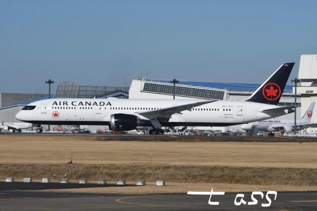tassさんが、成田国際空港で撮影したエア・カナダ 787-9の航空フォト(飛行機 写真・画像)