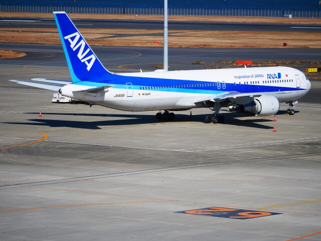 mich_stoneさんが、羽田空港で撮影した全日空 767-381/ERの航空フォト(飛行機 写真・画像)