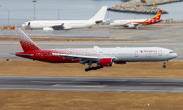 Asamaさんが、香港国際空港で撮影したロシア航空 777-312の航空フォト(飛行機 写真・画像)