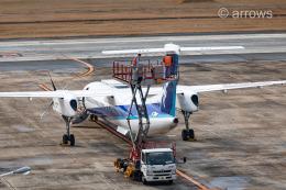 アローズさんが、福岡空港で撮影したANAウイングス DHC-8-402Q Dash 8の航空フォト(飛行機 写真・画像)