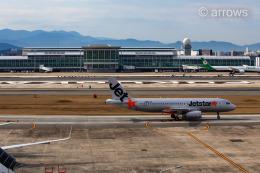 アローズさんが、福岡空港で撮影したジェットスター・ジャパン A320-232の航空フォト(飛行機 写真・画像)