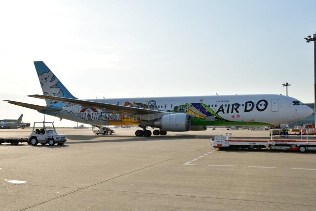 しまb747さんが、羽田空港で撮影したAIR DO 767-381の航空フォト(飛行機 写真・画像)