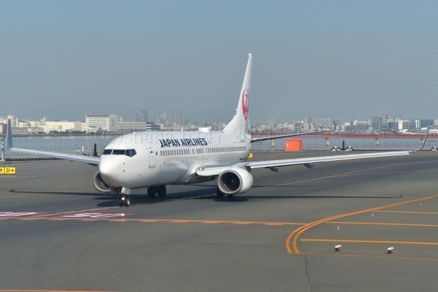 しまb747さんが、羽田空港で撮影した日本航空 737-846の航空フォト(飛行機 写真・画像)